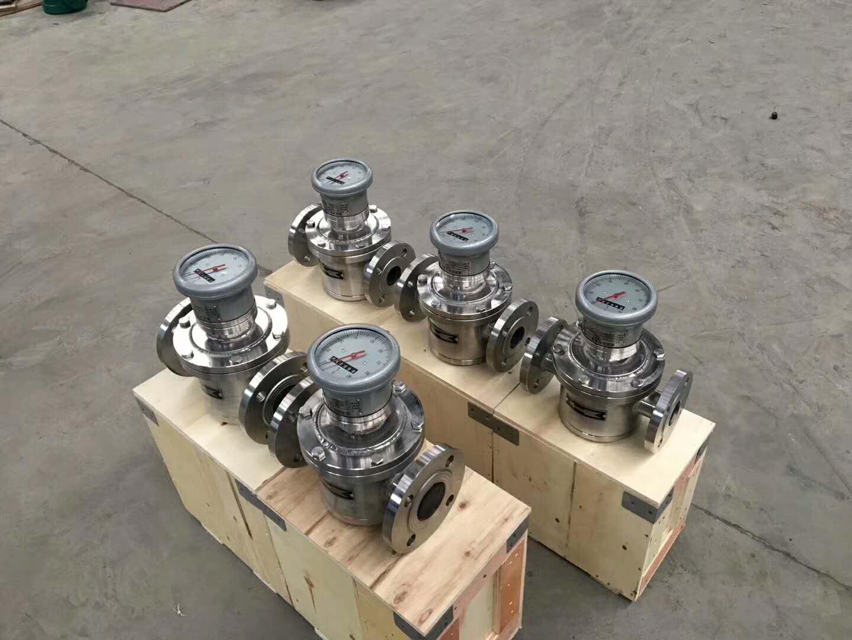 不锈钢椭圆齿轮流量计,高粘度流量计,油流量计