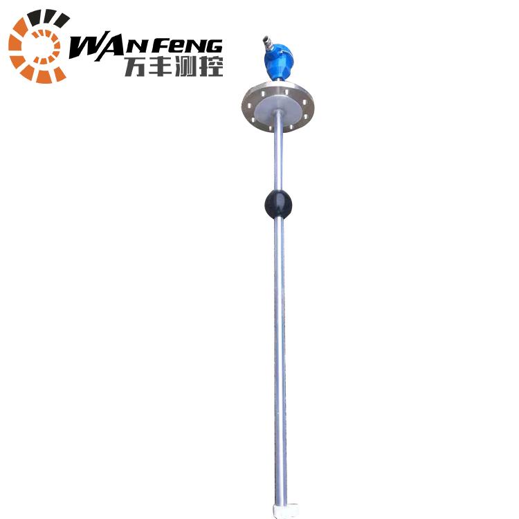 304衬四氟防腐浮球液位计,液位变送器,4-20ma